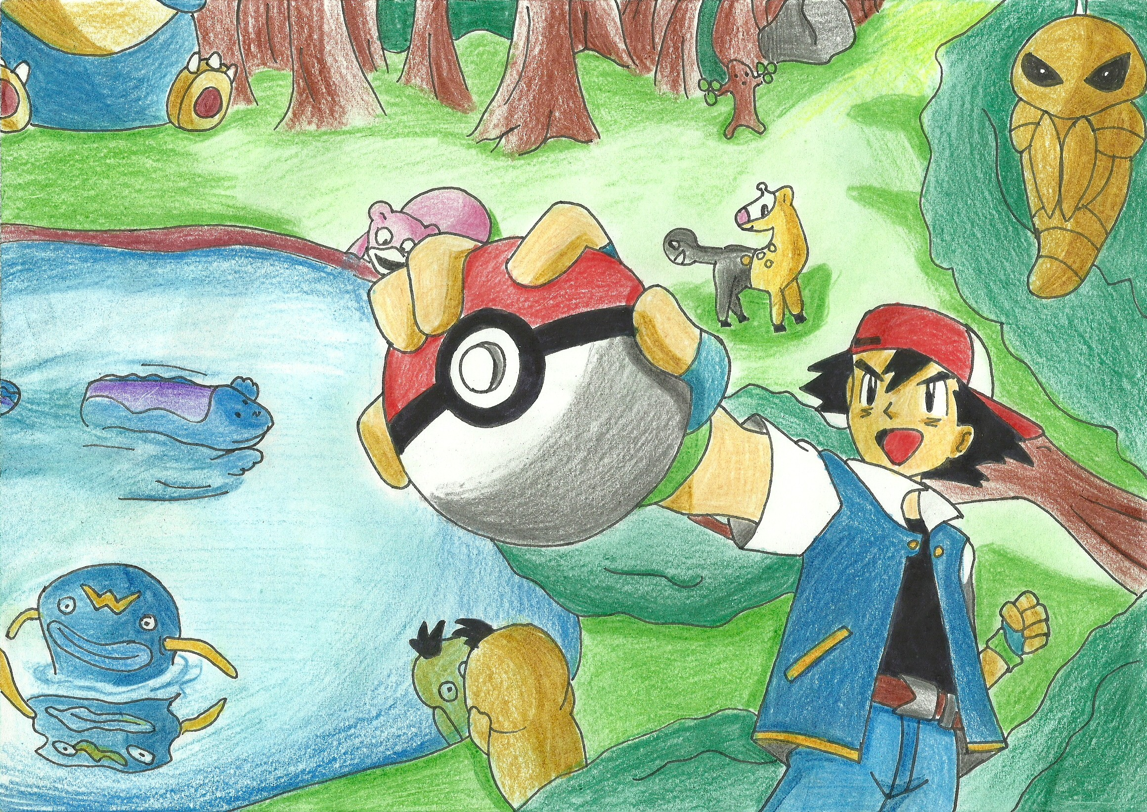Pokemon by TheMagicUnderpants
