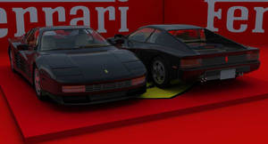 Ferrari TestarossaScene