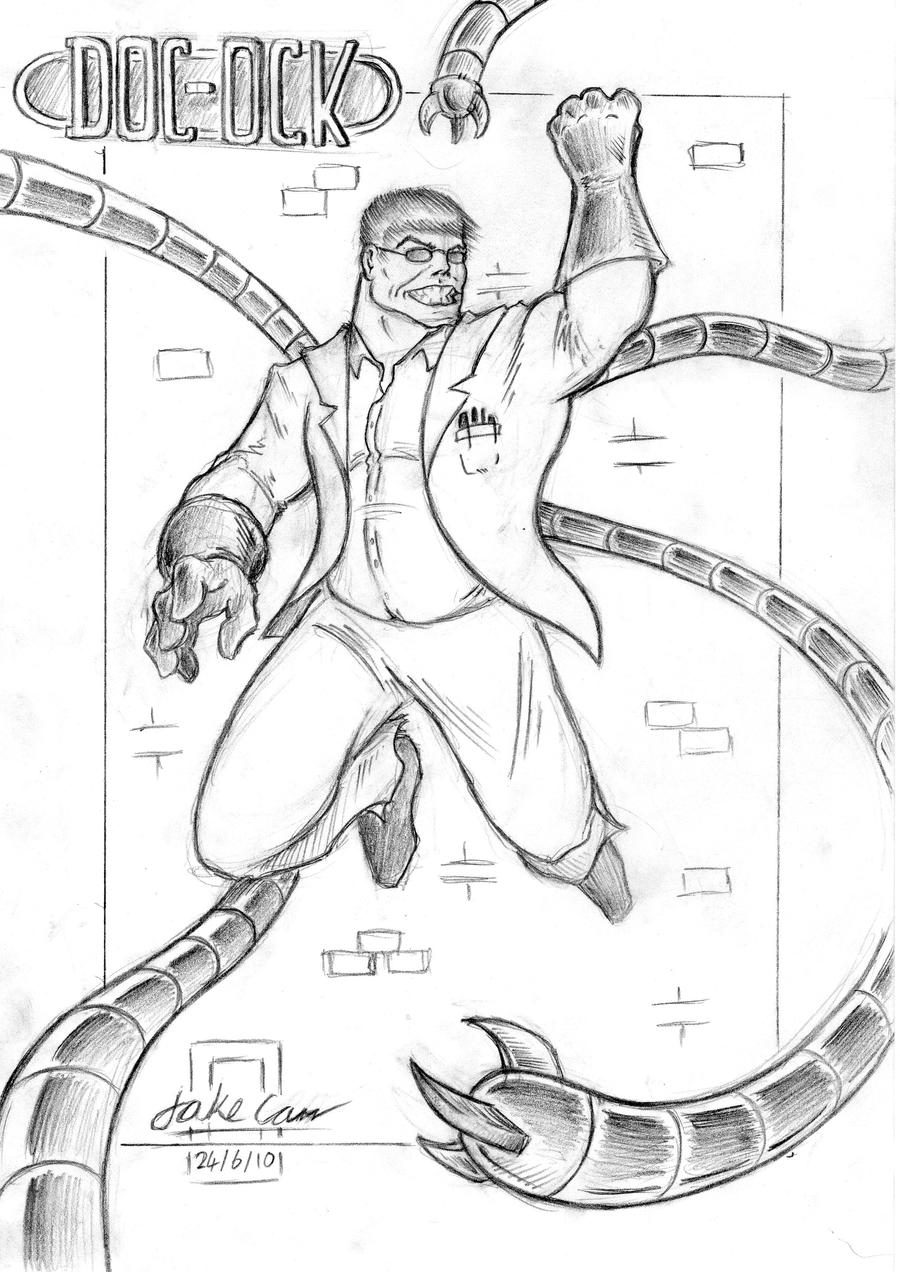 Doc Octavius Coloring Pages Coloring Pages Doc Ock Coloring Pages
