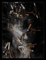 Human Ashtray by GoranDA