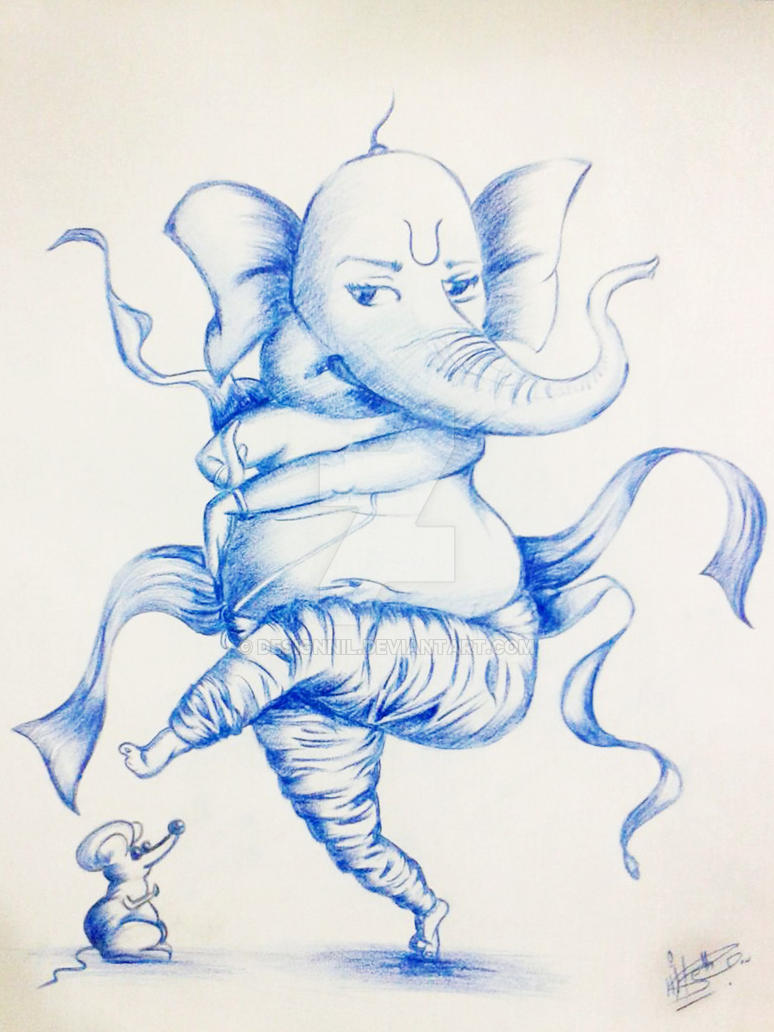 Lord Ganesha by DesignNil