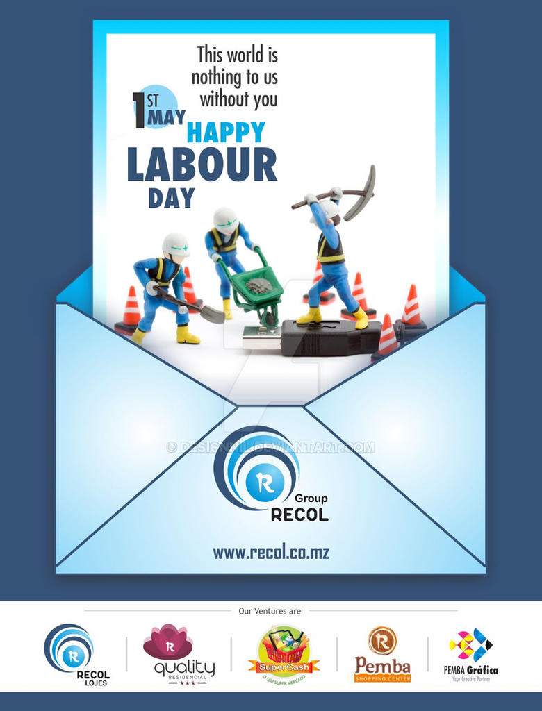Emailer Labour Day Recol by DesignNil