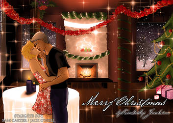Stargate SG-1: Merry Christmas (Sam/Jack) by kimberleyjksn