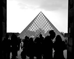 Shadows and Louvre by Hadcorp