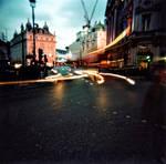 London by Night - Holga