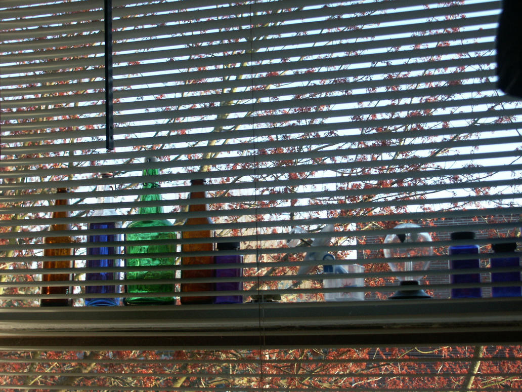 Glass in Window by Clemtaur