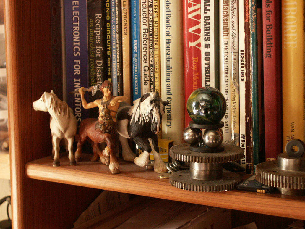On The Wild Shelf by Clemtaur