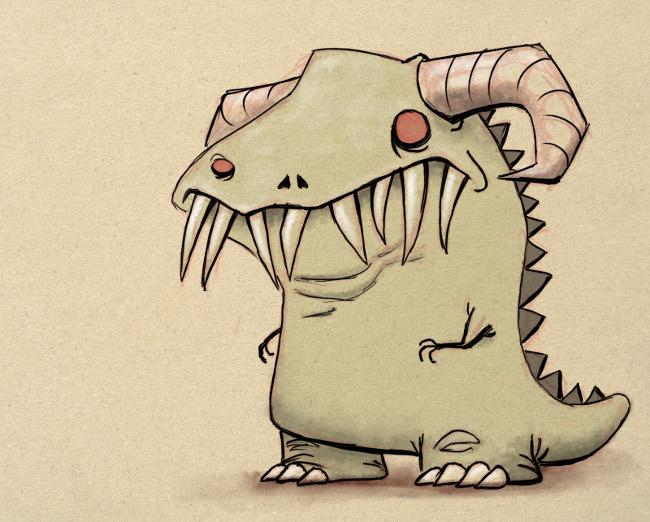 Dinogloth by sticmann