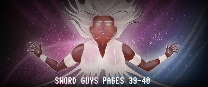 Sword Guys, Pages 39-40 by ErikHolfelderArt