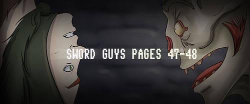 Sword Guys, Pages 47-48 by ErikHolfelderArt