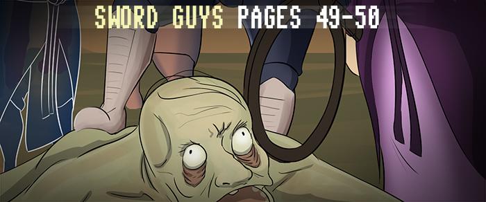 Sword Guys, Pages 49-50 by ErikHolfelderArt