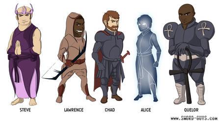 Sword Guys Designs by ErikHolfelderArt