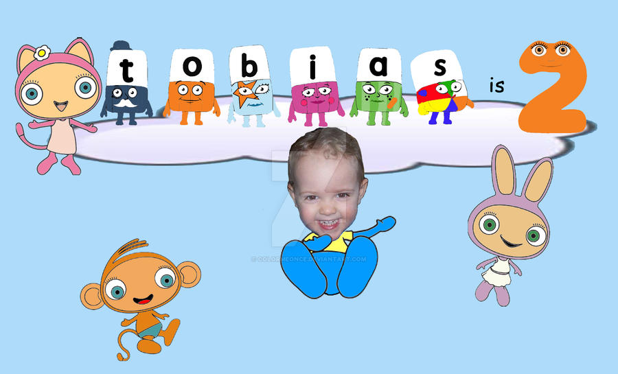 2nd Birthday Card for Cbeebies by ColorMeOnce on DeviantArt – Numberjacks Birthday Card