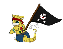 Sandshrew Pirate