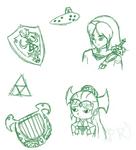 Zelda Doodles