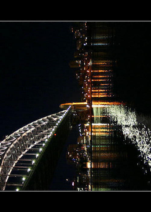 Sydney harbour bridge by jennipenny
