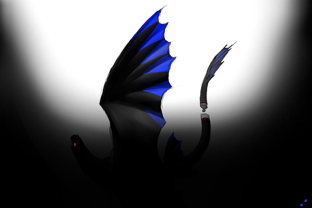 Falling Into Darkness by AnimeBluetail