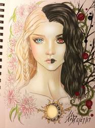 Naughty But Nice by Morbid-Seraphim