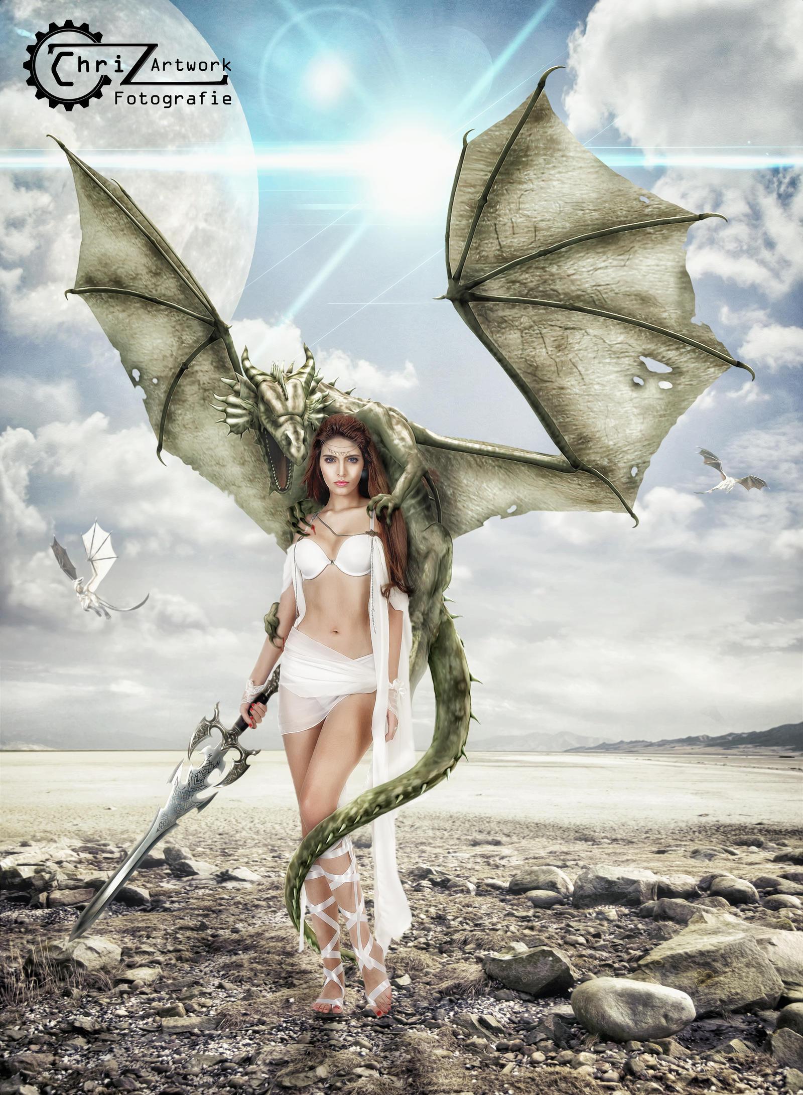 Drachenlady by Drag-rider