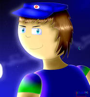 Me in Paint Tool Sai by RobloxFan75000