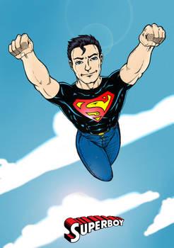 Superboy colored