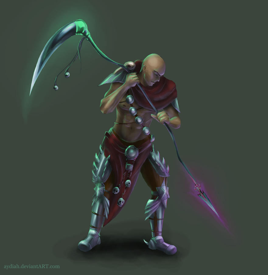 Dark warrior (dh6) by Aydiah