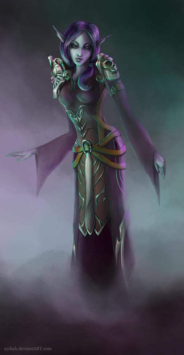 Kelari Cleric by Aydiah