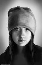 Portrait practise by LenamoArt
