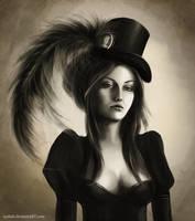 Lady-spy by LenamoArt