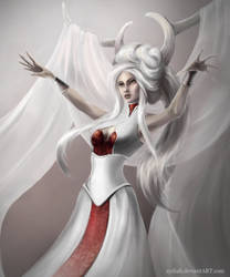 The White Queen (close-up)