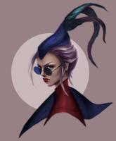 Aristocrat Vayne, League of Legends by LenamoArt