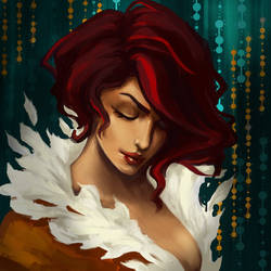 Red - Transistor fanart by LenamoArt