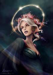 Eos, The Dawn Star by LenamoArt