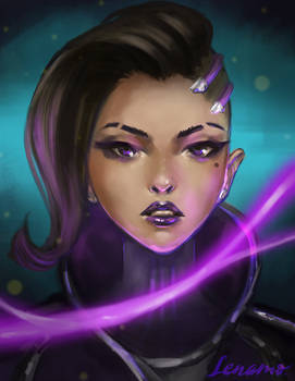 Commission: Sombra, Overwatch