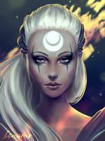 Patreon: Bring down the sun! League of Legends by LenamoArt