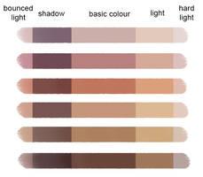 Skin Colour Palette - hard by LenamoArt