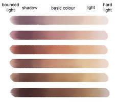 Skin Colour Palette - blended by LenamoArt