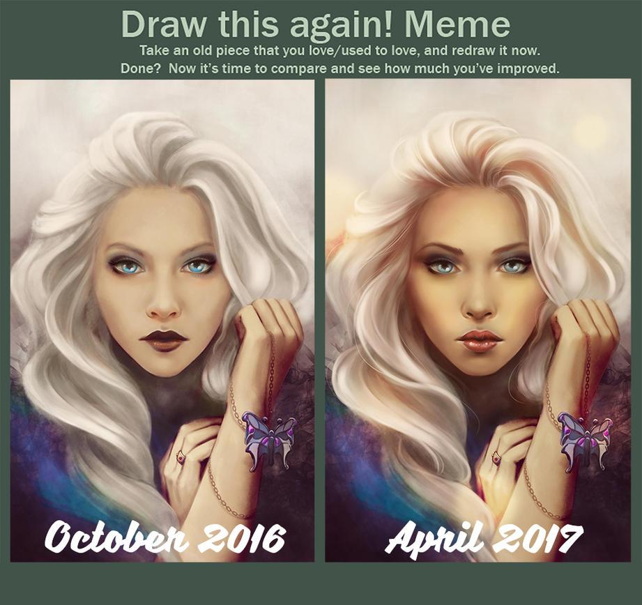 Draw it again: Silence by LenamoArt