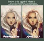 Draw it again: Silence