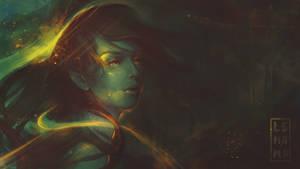 Burning night - Wallpaper 1920x1080