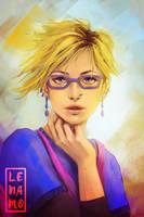Commission: Izzy by LenamoArt