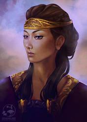 Lady Yasenkhana by LenamoArt