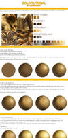 How to paint gold - tutorial