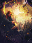 Commission: Irtheas by LenamoArt