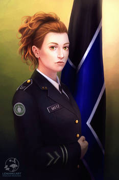Commission: Corporal Kasmira Metz