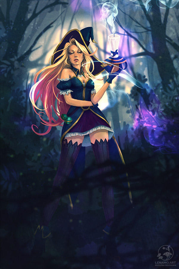 Bewitched Miss Fortune