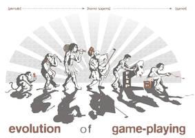 'Evolution of Game-Playing' by kiedan