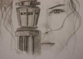 Daisy Ridley by DanArt0972