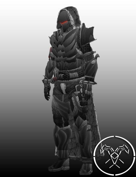 Destiny Hunter Fate Zero Berserker Armor By Hellmaster6492