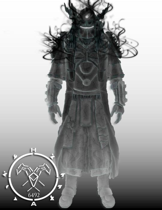 Taken Destiny Warlock Kikuchiyo armor by Hellmaster6492 on